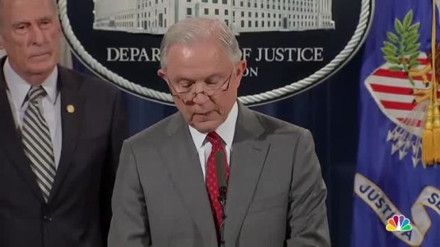 [NATL] Sessions Warns Would-Be Leakers: 'Don't Do It'