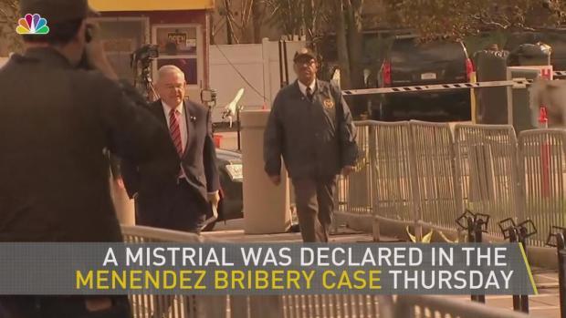 [NY] Judge Declares Mistrial in Sen. Bob Menendez Bribery Case