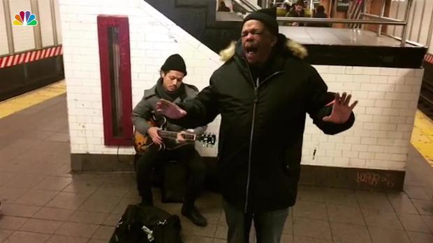 Subway Singer Mike Yung's Extraordinary Voice