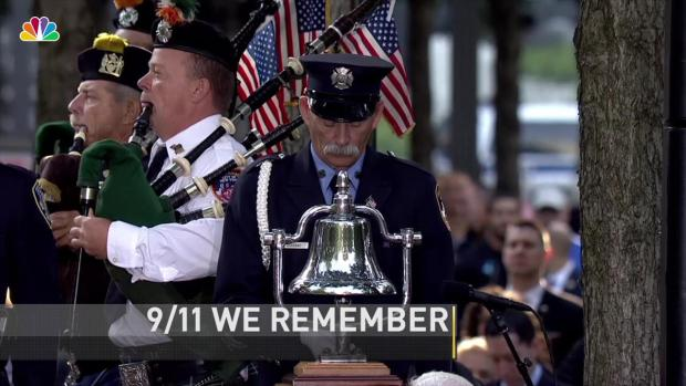 Image result for 9 11 ceremony bell ringing