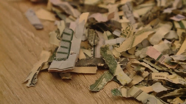 [NATL] Kid Shreds Over $1,000 of His Parents' Cash