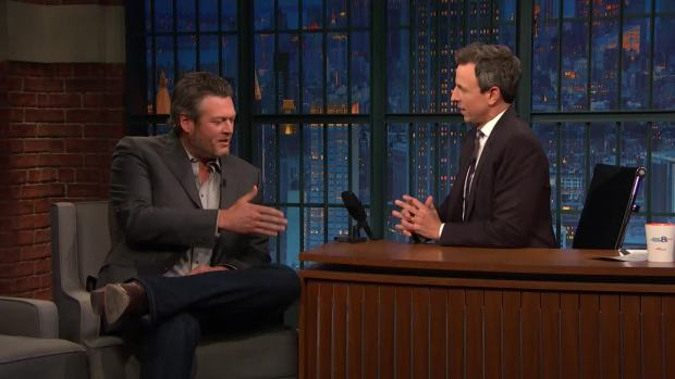 We're naming Blake Shelton Sexiest Man Alive!