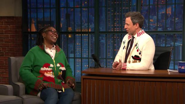 [NATL] 'Late Night': Whoopi Goldberg Shares Her Magical Holiday Memories