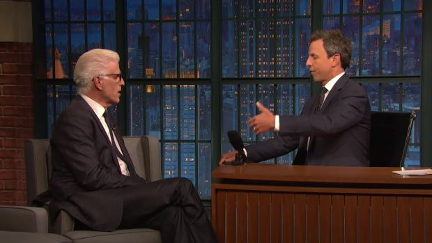 [NATL] 'Late Night': Ted Danson Struggled to Play Sam on 'Cheers'