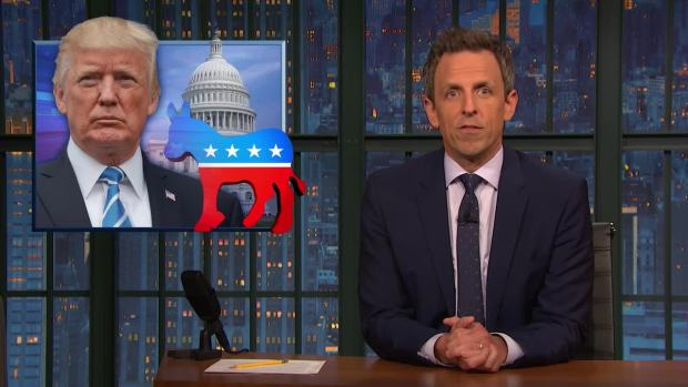 [NATL] 'Late Night': A Closer Look at Reaction to Dems Winning House