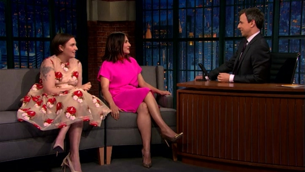 [NATL] 'Late Night': Lena Dunham and Jenni Konner Love the Kardashians