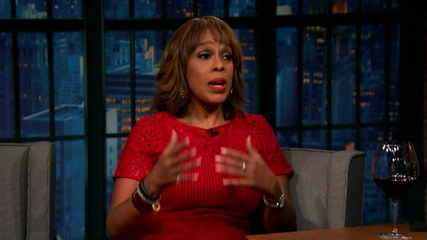 [NATL] 'Late Night': Gayle King on Media's Off-the-Record Meeting With Donald Trump