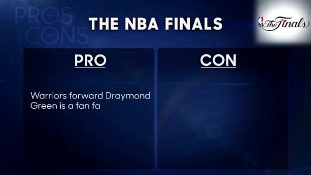 'Tonight': Pros & Cons of NBA Finals
