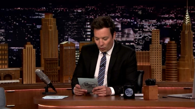 [NATL] 'Tonight Show': Fallon Reads Off Tweets From People Who Had to Do It