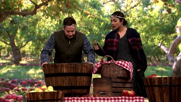 [NATL] 'Tonight Show': Bobbing for Apples With Priyanka Chopra