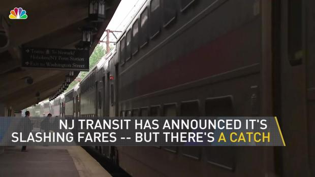 [NY] NJ Transit Announces Fare Slash