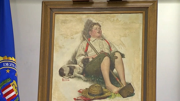 Stolen Rockwell Painting Returned to Owners