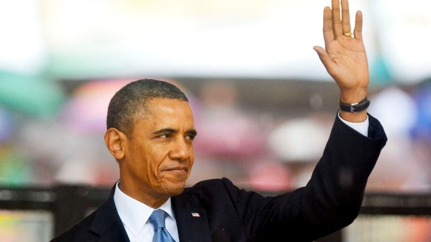 [AP] Obama Urges World: Act on Mandela Legacy