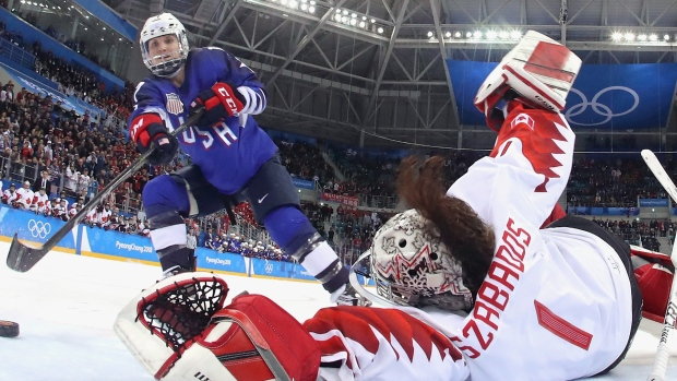 [NATL] A Shot Called 'Oops I Did It Again' Won the US Gold in Women's Hockey
