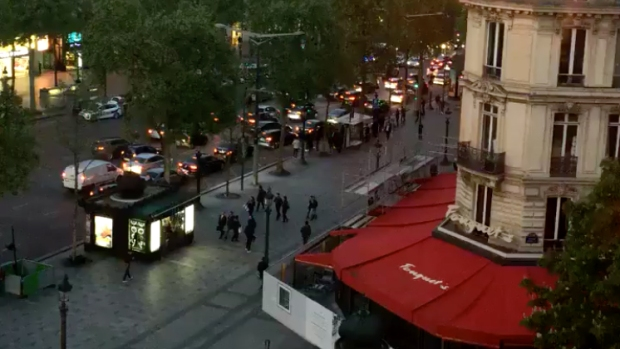 [NATL] Video Shows Police Response in Paris After Reports of Shots Fired