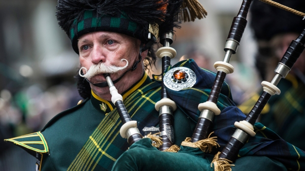 2014 St. Patrick's Day Parade Marches Through New York