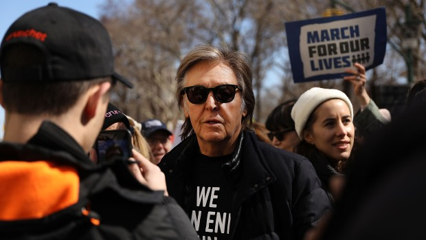 Why Paul McCartney Joined Anti-Gun Violence March in NYC