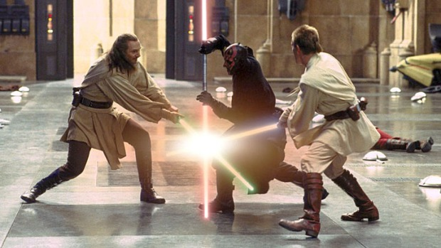 "Cover Your Eyes: ""Star Wars, Episode I: The Phantom Menace"""