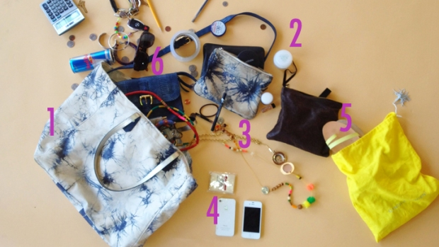 Purse Purge: Cynthia Vincent Totes Natural Sunscreen and Evening Clutches