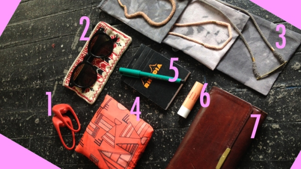 Purse Purge: Erin Considine Carries Extra Totes, Mom's '80s Wallet