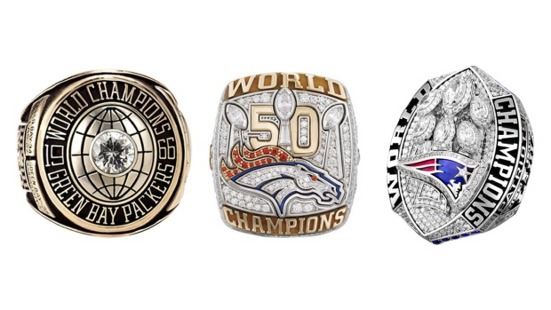 [NATL] See All 53 Super Bowl Championship Rings From I to LIII