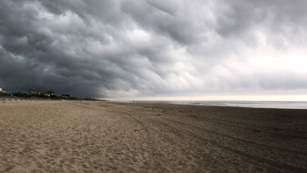 New Photos Show Storm on East Hampton Just Before Plane Went Down