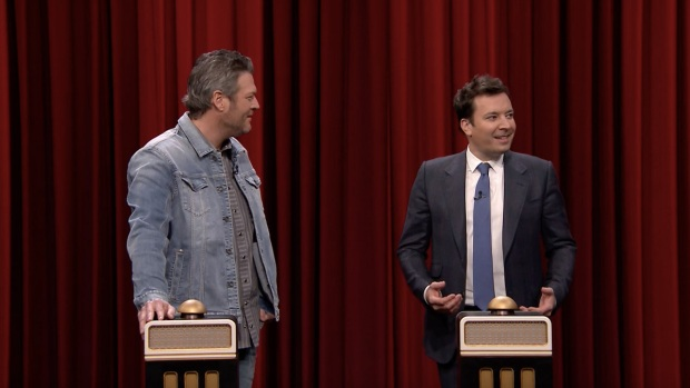 [NATL] 'Tonight': Name That Song Challenge With Blake Shelton