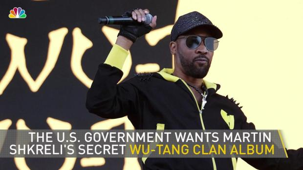 [NATL-NY] The US Government Wants Shkreli's Wu-Tang Album