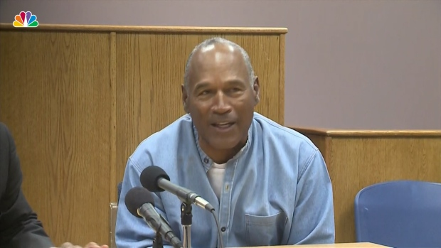 [NATL] OJ Simpson Granted Parole