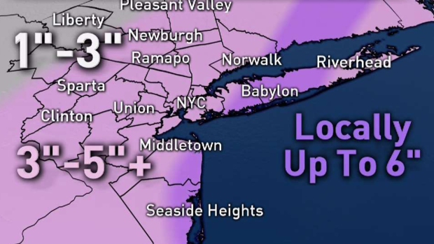 Storm Team 4 Breaks Down Snow Timeline, Latest Projections