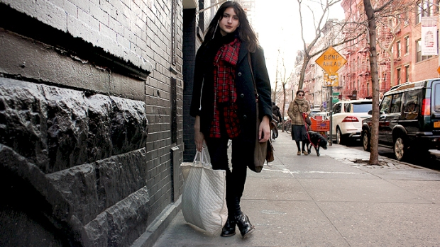 Street Style: Justine on Prince and Mulberry