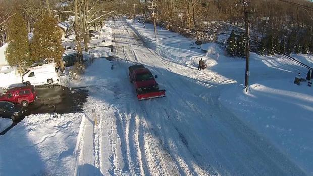 [NY] Drone Footage of the Blizzard of 2016