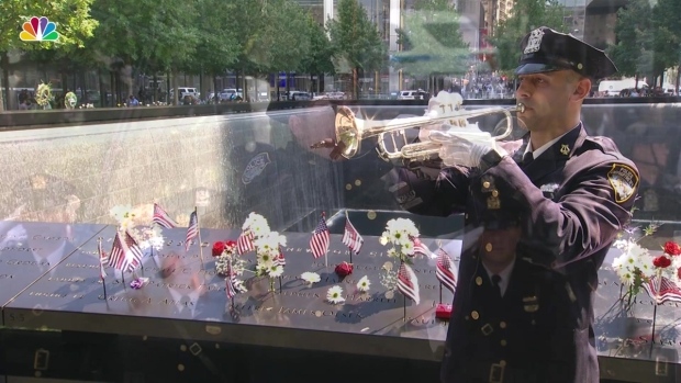 [NY] 9/11 Anniversary: NYPD Closes Out Ground Zero Ceremony With ' Taps'