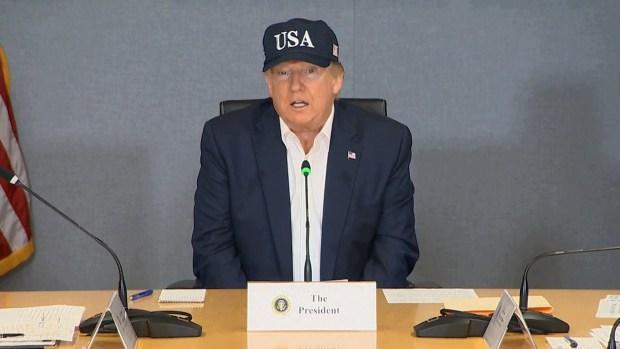 [NATL] Trump: 'I'm Not Sure I've Heard of a Category 5'
