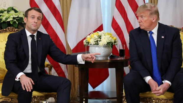 [NATL] Trump, Macron Disagree on State of ISIS in Middle East
