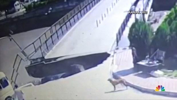[NATL] Terrifying Bridge Collapse Caught on Camera