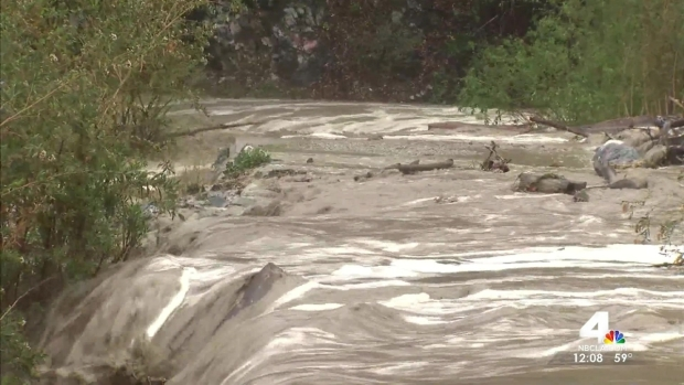 [LA] Notorious Lytle Creek Swells Amid Rains