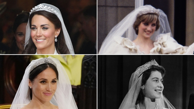[NATL] Something Borrowed, Something Blue: Royal Brides and Their Wedding Day Tiaras