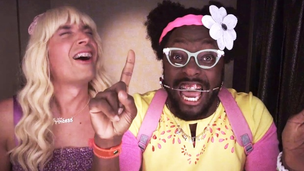"""[NATL] Jimmy Fallon, Will.i.am Rap About What Makes Them Say """"Ew!"""""""