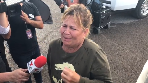 [NATL] Woman Searches for Mother Outside El Paso Walmart