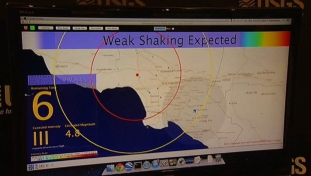 [BAY] California Earthquake Alert System Would Cost $80 Million: Officials