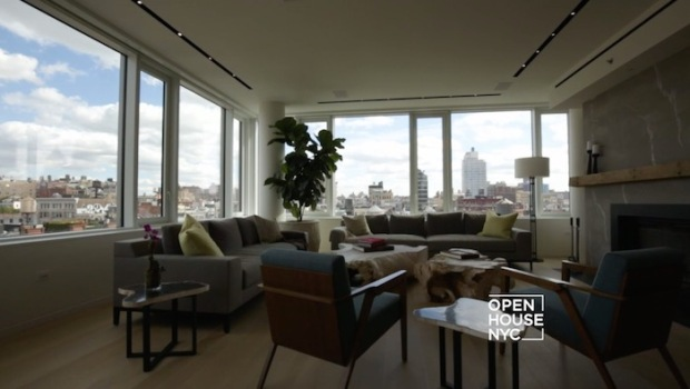 A Light-Filled Penthouse in Soho
