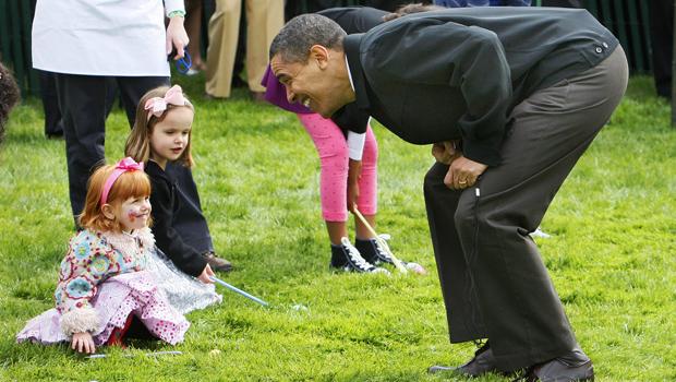 Photos: Obamas Host Easter Egg Roll