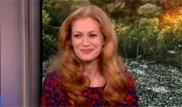 "[LXTVN] Mireille Enos on ""World War Z"""
