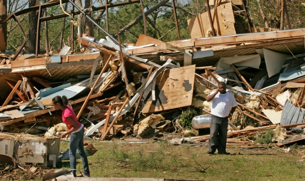 Deadly Tornadoes Strike Virginia