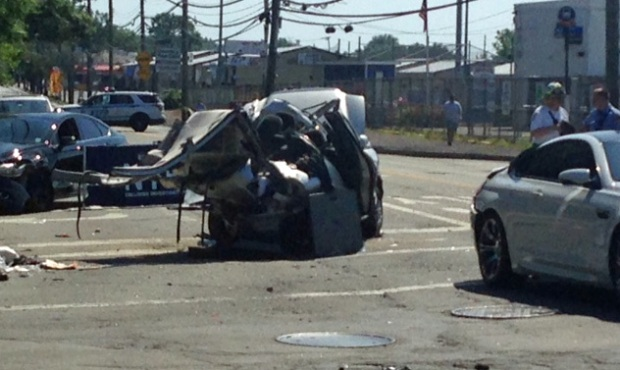 Accident On I  Area Of Staten Island Today