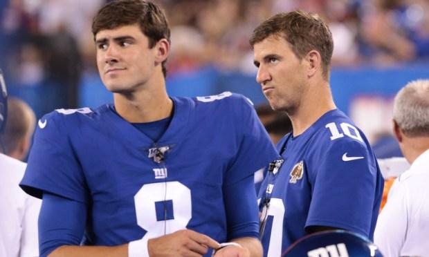 [NY] Giants Bench Manning; Daniel Jones to Start