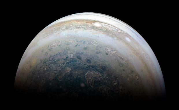 NASA's Juno Spacecraft Goes Storm Chasing Above Jupiter