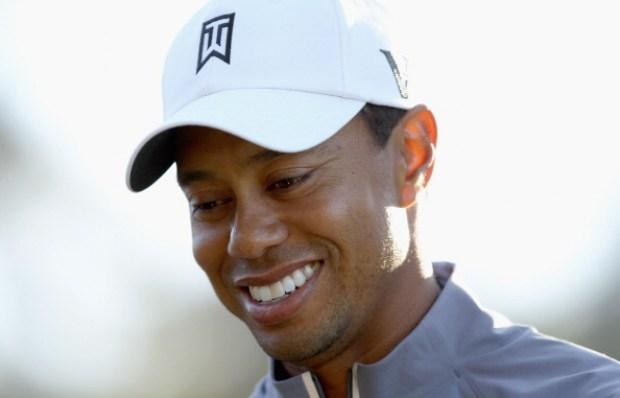 Tiger Woods at Pebble Beach