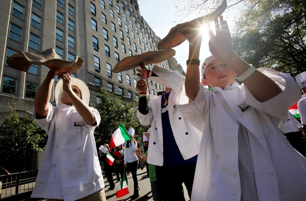 Columbus Day Parade in Photos